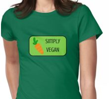 Simply Vegan! Womens Fitted T-Shirt