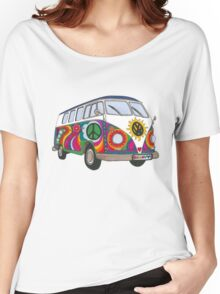 Psychedelic Kombi Women's Relaxed Fit T-Shirt