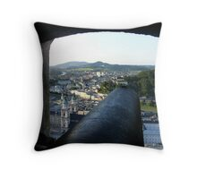 Salzburg Castle Throw Pillow