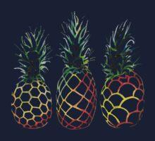 Retro Pineapples Baby Tee