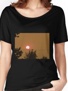 Smoky Sunset Women's Relaxed Fit T-Shirt