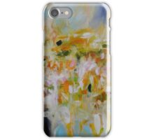 Original abstract art on print  iPhone Case/Skin