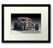 1933 Ford PU Rat Rod Framed Print
