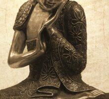 Buddha Lotus Sticker