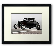 1932 Ford 'Louvered' Coupe II Framed Print