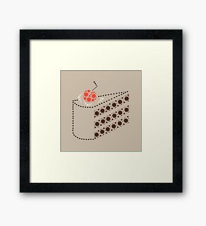 Cake (honest!) Framed Print