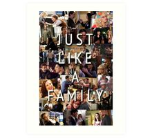Just Like a Family (Criminal Minds) Art Print
