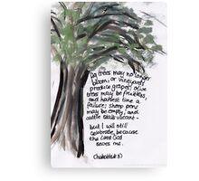 Habakkuk 3: Celebrate Canvas Print