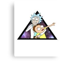 rick and morty space stuff foolllsss Canvas Print