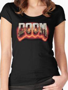 Doom Women's Fitted Scoop T-Shirt