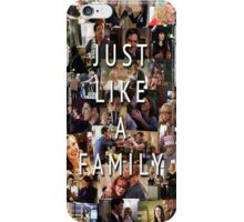 Just Like a Family (Criminal Minds) iPhone Case/Skin