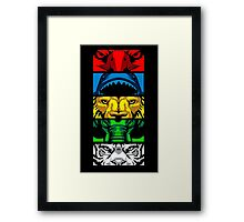 Zyuohger Group Framed Print