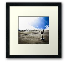 Lattice Luminance  Framed Print