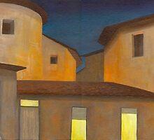 Montecastello nights by Barbara Weir
