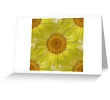Sunny Day Daisy Floral Abstract Greeting Card