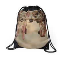 Salami tree Drawstring Bag