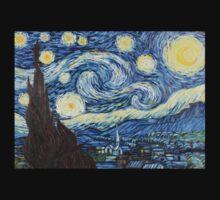 Van Gogh - Starry Night Kids Tee