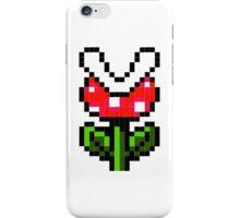 8-Bit Piranha Plant iPhone Case/Skin