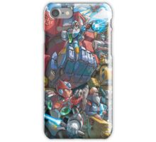Megaman X Transformers iPhone Case/Skin