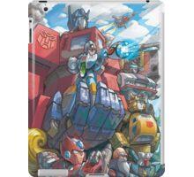 Megaman X Transformers iPad Case/Skin