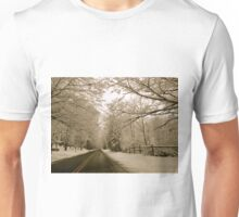 Winter in the hills Unisex T-Shirt