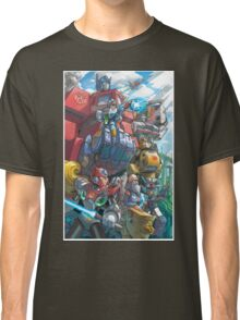 Megaman X Transformers Classic T-Shirt