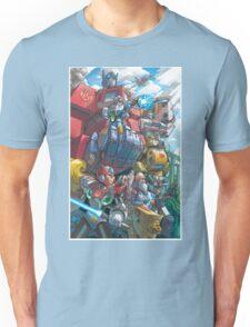 Megaman X Transformers Unisex T-Shirt