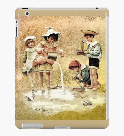 VICTORIAN CHILDHOOD iPad Case/Skin
