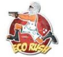 Eco Rush sticker Sticker