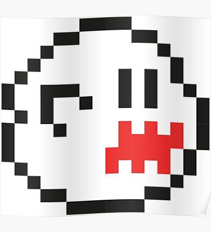 8-Bit Boo Poster