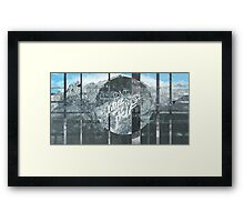 DONT LOSE YOURSELF ▽ Framed Print