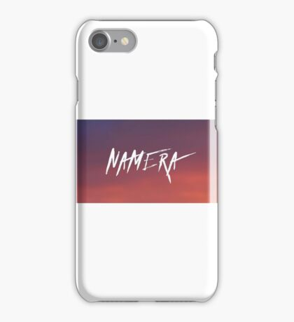 NAMERA SUNSET ▽ iPhone Case/Skin