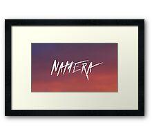 NAMERA SUNSET ▽ Framed Print