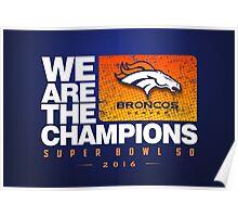 Broncos Champions WATC Poster