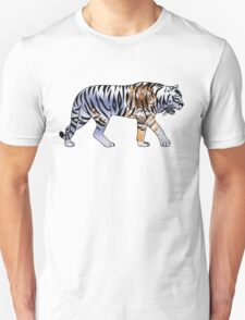 Tiger 2 White Unisex T-Shirt