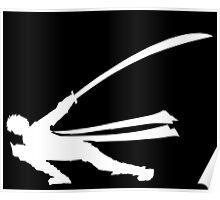 MH4U Long Sword Black Shirt Poster