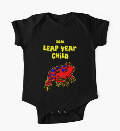 2016 Leap Year Child (Baby Onesie) One Piece - Short Sleeve