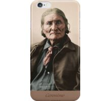 Geronimo 1898 iPhone Case/Skin