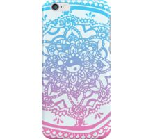 Pink and Blue Ombre Design iPhone Case/Skin