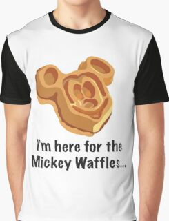 Mickey Waffle Graphic T-Shirt