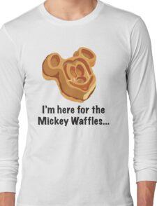 Mickey Waffle Long Sleeve T-Shirt