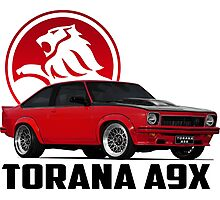 Holden Torana - A9X Hatchback - Red 2 Photographic Print