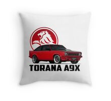 Holden Torana - A9X Hatchback - Red 2 Throw Pillow