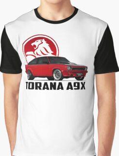 Holden Torana - A9X Hatchback - Red 2 Graphic T-Shirt