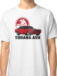 Holden Torana - A9X Hatchback - Red 2 Classic T-Shirt