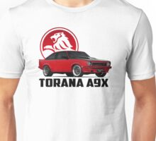 Holden Torana - A9X Hatchback - Red 2 Unisex T-Shirt