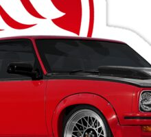 Holden Torana - A9X Hatchback - Red 2 Sticker