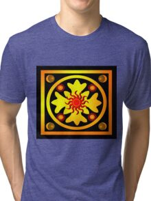 red sun Tri-blend T-Shirt