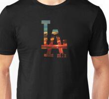 LA Beach Black Unisex T-Shirt