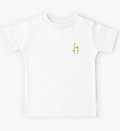Beer Belly Mens Room Small Logo Green-White-Red-Plaid  Kids Tee